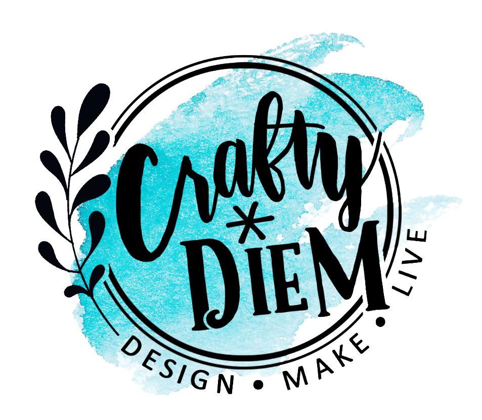 Crafty Diem Logo. Design. Make. Live